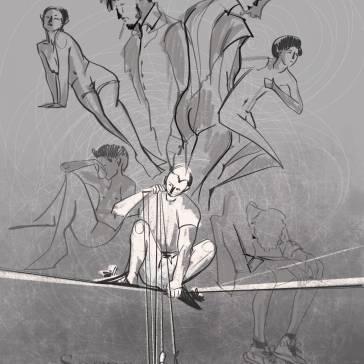 L'illustrazione di Alice B.